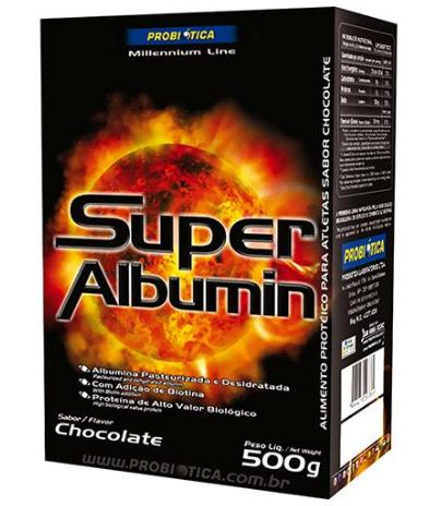 super albumin chocolate
